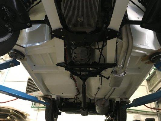 Alfa romeo Giulia Spider in consegna