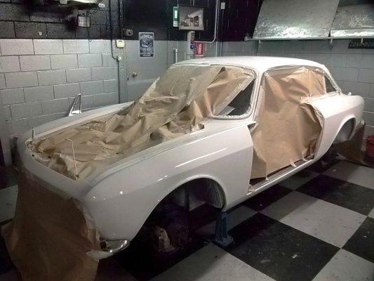 Alfa Romeo Gtj 1750 del 1969 -Verniciata da rimontare-