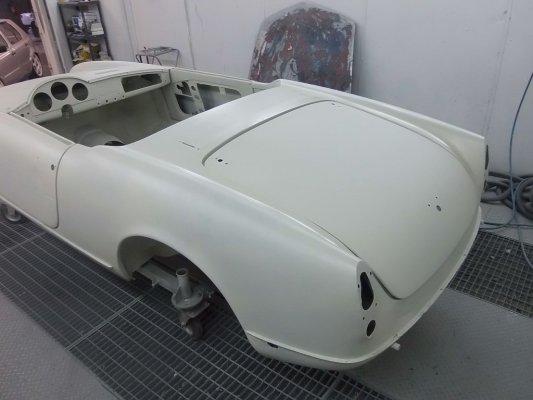 restauro Alfa Romeo Giulietta Spider 1° serie