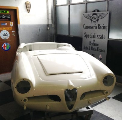 Alfa Romeo Giulia Spider- verniciata-