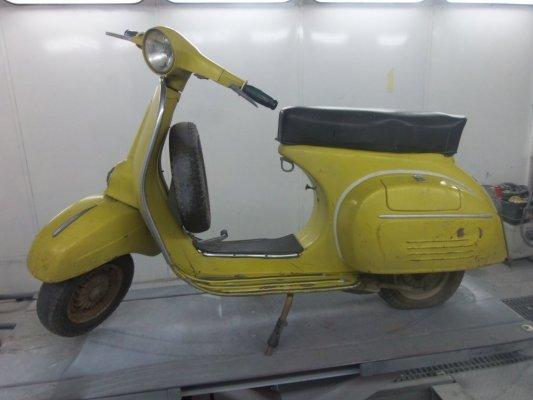 VESPA 150 SUPER 1968 IN RESTAURO