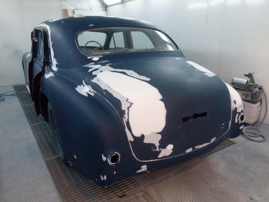 Alfa Romeo 6c in restauro
