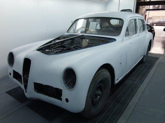 Alfa Romeo 6 c 2500 sport  1951 in restauro