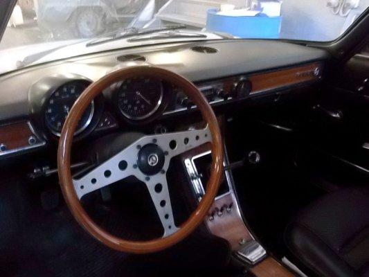 Alfa Romeo Gtj 1750 del 1969 -conservata- INTERNO CRUSCOTTO