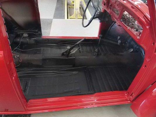 Beetle rosso fase  montaggio