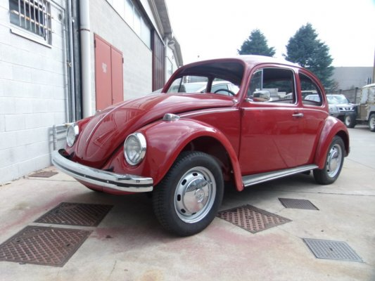 BEETLE ROSSO 1970